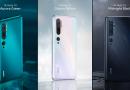 Xiaomi Mi Note 10 y Mi Note 10 Pro, ya incorporan 5 cámaras